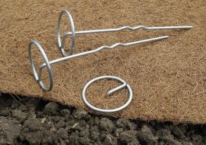 Clou de fixation ergonomique Terrapic x10 - Nortene - 20 cm