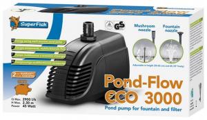 Pond-Flow ECO 3000 - Pompe bassin - Superfish - 3000 LH