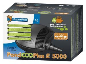 Pompe de bassin Pond Eco plus E 5000 - Superfish - 5000 LH