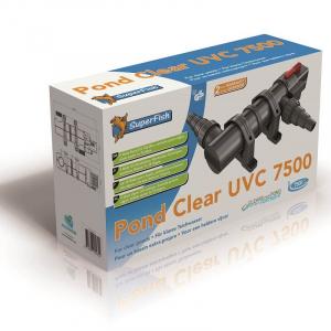 Pond Clear 7500 UVC - Filtre UV Bassin - Superfish - 9 Watts