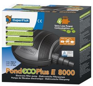 Pompe de bassin Pond Eco Plus E 8000 - Superfish - 8000 LH