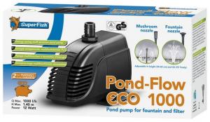 Pond Flow ECO 1000 - Pompe Bassin - Superfish - 1000 LH