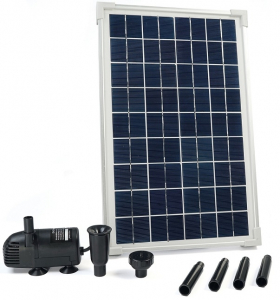 Pompe solaire pour bassin Solarmax 600 - Ubbink - 610 LH - 40x25,5x2,5 cm