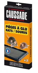 Pièges à glu ratssouris - Caussade - x2