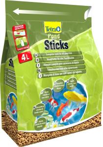 Tetra pond sticks 4 L + 25 % gratuit - Aliment complet pour poissons de bassin