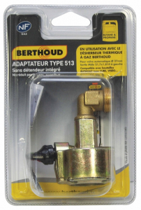 Adaptateur 513 gaz Cube - Berthoud