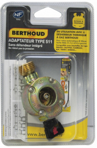 Adaptateur 511 gaz Twinny - Berthoud
