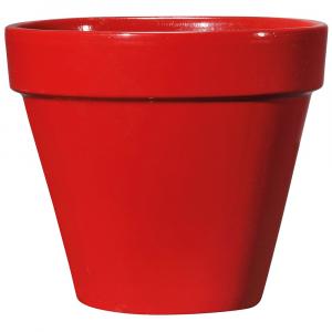 Pot Bigband - Rouge tomate - 23 cm