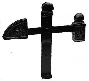 Arrêt de portail grand modèle - MERMIER LEMARCHAND - 4 x 35 x 21 cm