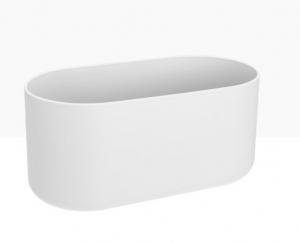 Cache-pot B.for Soft Duo - Elho - Blanc - 27 cm