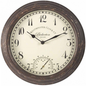 Horloge & thermomètre Bickerton - Smart Garden Products - 30 cm
