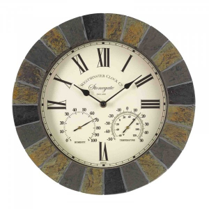 Horloge & thermomètre Stonegate - Smart Garden Products - 35 cm