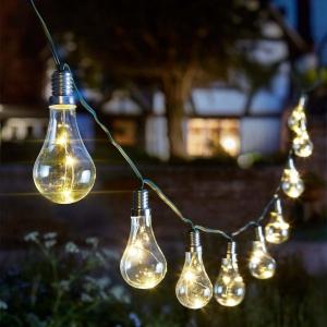 Guirlande lumineuse solaire Eureka - Smart Garden Products - 3.8 m