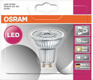 Spot LED - Osram - 6.9 W - GU 10 - Finition Full glass