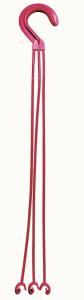 Crochet pour suspension Lotus - Poetic - griotte