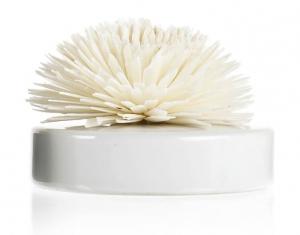 Diffuseur de parfum céramique fleur Goatier - GOA - Blanc