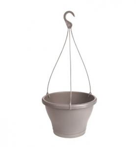Pot Corsica Suspension - Elho - 30 cm - Taupe