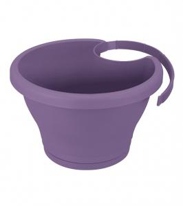 Pot gouttière Corsica - Elho - Ø 24 cm - Violet