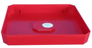 Plateau Soleilla - Riviera System - Rouge - 28 x 28 x 4 cm