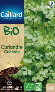 Coriandre cultivée - Bio - Caillard