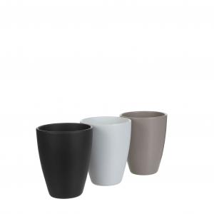 Pot rond tusca mat - Mica Decorations - Ø 13.5 x 17.5 cm