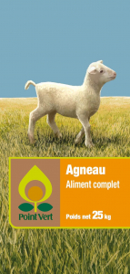 Aliment complet - Agneau - 25 kg