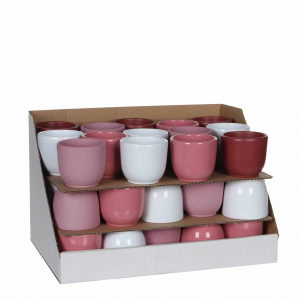 Pot rond tusca - Mica Decorations - Ø 8 x 7 cm