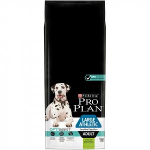Croquettes pour chiens Large et athletic adult sensitive digestion Optidigest - Proplan - agneau&riz - 14 kg
