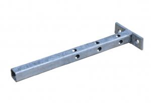 Pied réglable pour chenil - Nesa - 25,5 x 8,5 cm
