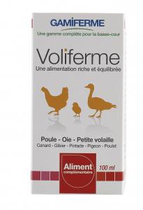 Voliferme 100 ml - Aliment minéral pour volailles