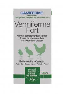 Vermiferme 100 ml - Aliment complémentaire liquide pour volaille