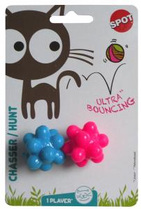 Mini balles rebondissantes atomes - Chew Balls - x 2