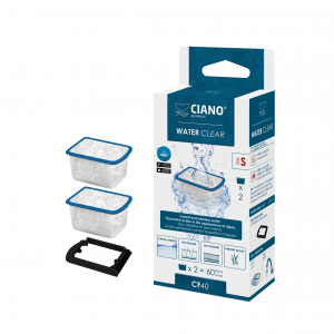 Cartouches Water Clear CF40 - Ciano - Taille S - x 2