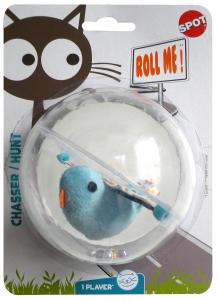 Balle plastique avec oiseau - Spot - Ø 10 cm