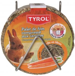 Palet de foin compressé aux carottes - Tyrol - 240 g