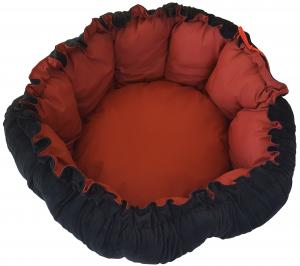 Bourse 2 en 1 Black & Red - Tyrol - Ø 47 cm