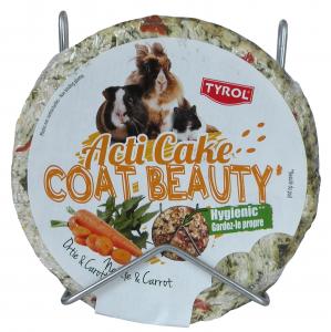 Friandise ortie/carottes pour lapins et rongeurs - Acti Coat Beauty - Tyrol - 100 g