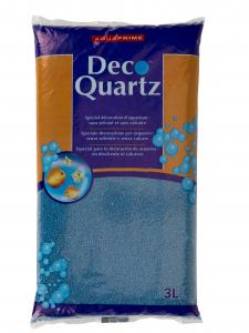 Quartz Bleu océan - Déco Quartz - Aquaprime - 3 L