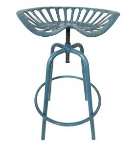 Chaise haute tracteur - Esschert Design - 50 x 46,5 x 69,7 cm - Bleu