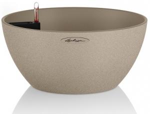 Pot Cube premium 40 - Lechuza - Beige sable