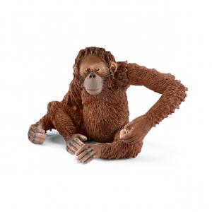 Figurine Orang-Outan femelle - Schleich - 6.6 x 5.8 x 5.6 cm