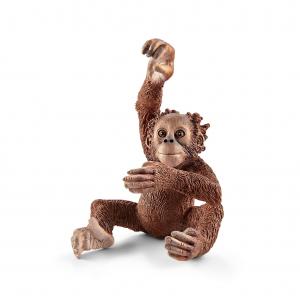 Figurine Jeune Orang-Outan - Schleich - 3.7 x 4 x 5.3 cm