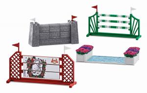 Figurines Parcours saut d'obstacles - Schleich - 19 x 6.6 x 11.5 cm