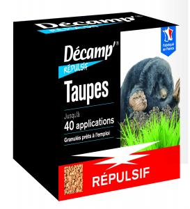 Répulsif taupes Décamp' sachets de granulés CREA - 375 g