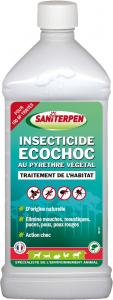 Insecticide Ecochoc au pyrèthre végétal 1 L - Saniterpen