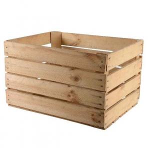 Caisse de pommes en bois - Kaemingk - 50 x 40 x 30 cm