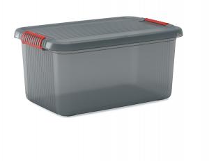 Bac de rangement empilable - KIS ABM - Gris - 43 L