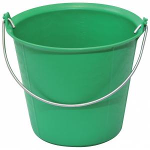 Seau pro renforcé à ergots - Taliaplast - 13 L - Vert