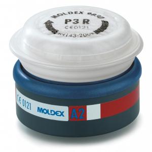 Filtres à particules P3 R masque 9000 - Moldex - Boite de 2 filtres