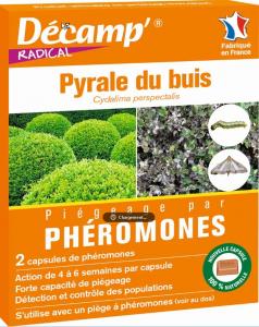 Phéromones contre pyrale du buis Décamp' Radical - CREA